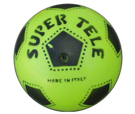 Plastový potištěný míč SUPER TELE FLUO