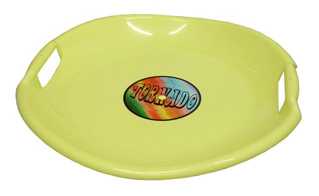 Acra Tornádo talíř sáňkovací 05-A2034/1 - žlutý