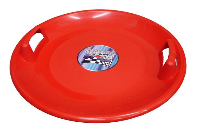 Acra Superstar plastový talíř 05-A2034 - červený