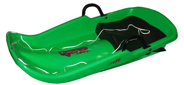 Acra Cyclone plastový bob A2036 - zelený