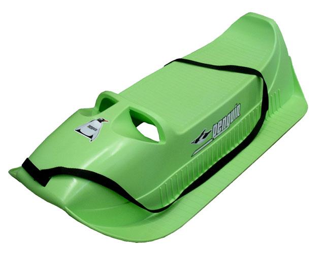 Acra Pinguin, Alfa sáně plastové A2045 - zelené