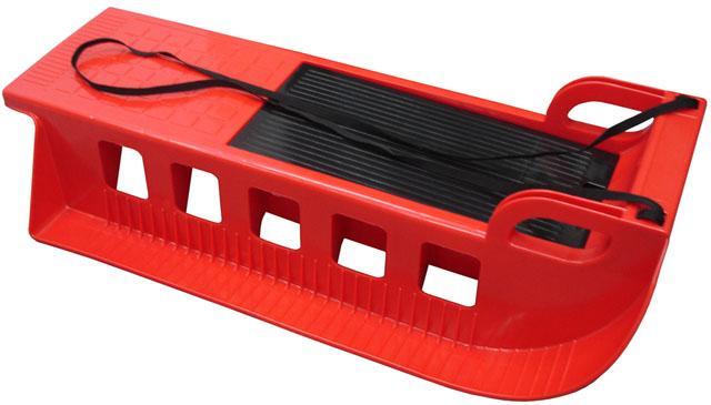 Acra Kamzík - plastové sáně 05-A2043 - červené