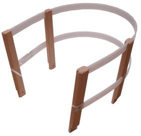 Ohrádka na sáně - dřevo + plast