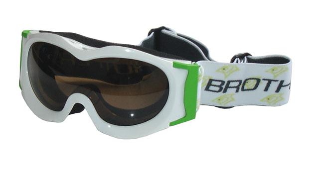 BROTHER B185-B lyžařské brýle JUNIOR - bílé