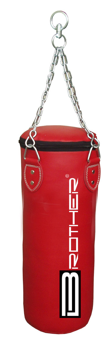 BP08 Boxovací pytel 0,8 m, červený