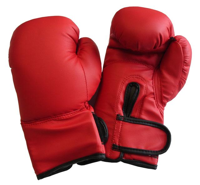 Boxerské rukavice PU kůže vel. XS,  6 oz.
