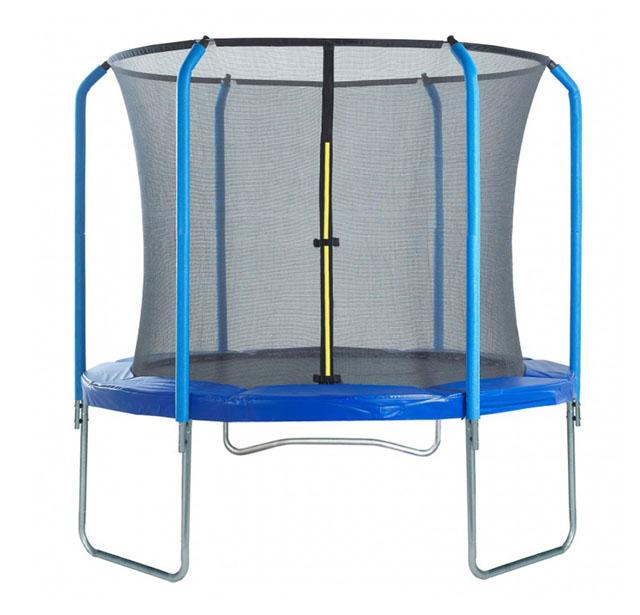 Trampolínový set 305 cm s vnitřní sítí + žebřík