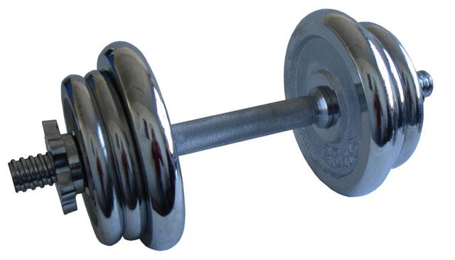Činka nakládací chromová - 11 kg