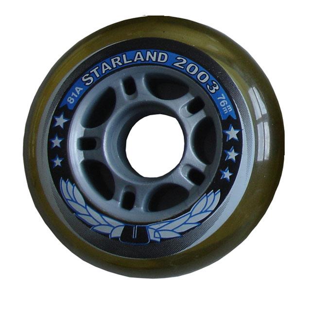 CS05/2 SKATE Náhradní kolečka do kolečkových bruslí 76 x 24 mm