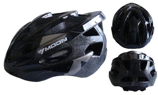 CSH30CRN-L černá cyklistická helma velikost L (58-61cm) 2018
