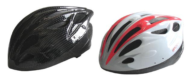 CSH31L bílá/černá cyklistická helma velikost L(58-61cm) 2015