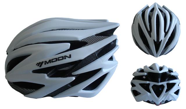 CSH98S-L stříbrná cyklistická helma velikost L (58-61cm) 2018