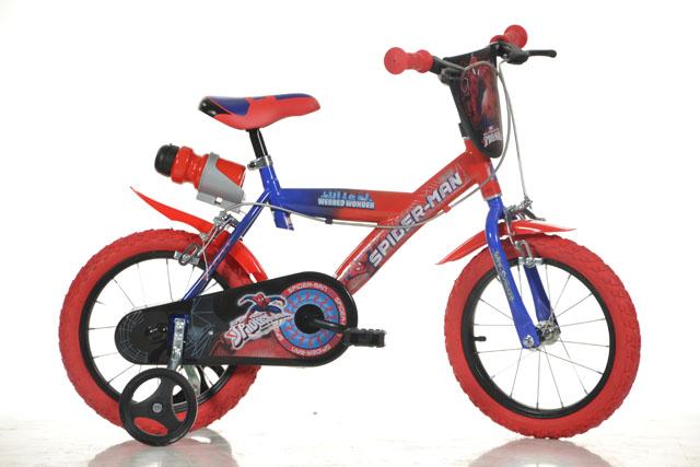 """Dino SPIDERMAN 14"""" 2019 dětské kolo"""