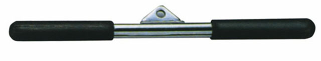 CWZ3808 Adapter k posilovacím přístrojům tricepsová tyč krátká 46 cm