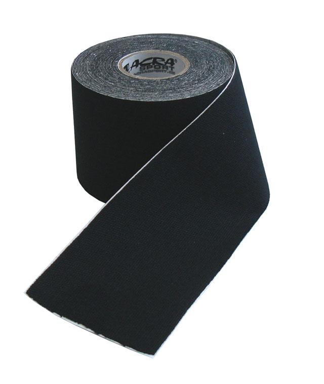 D70-CRN Kinezio tape 5x5 m černý