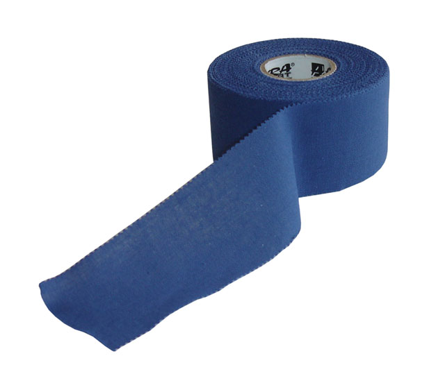 D74-MO Pevný tape 3,8x13,7 m modrý