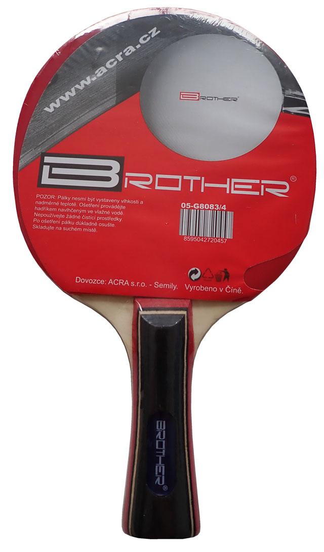 Pálka na stolní tenis BROTHER 4-star