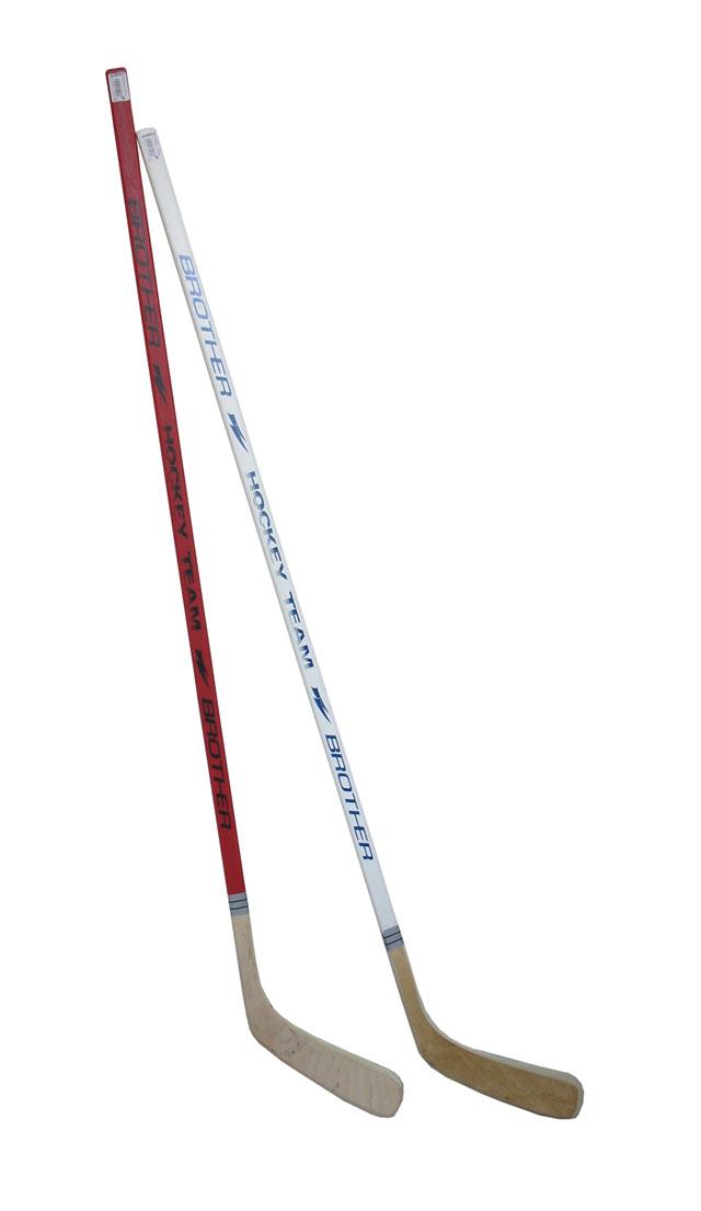 A3377-P Hokejka plastová s dýhou 147cm - pravá