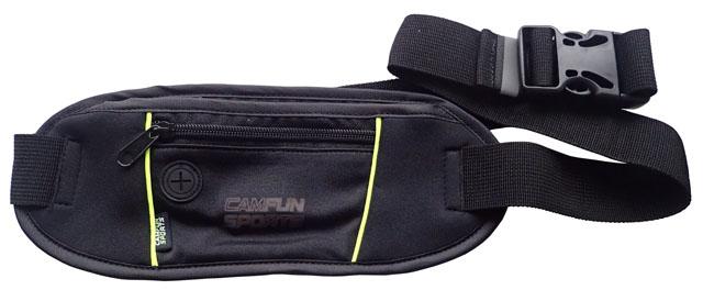 JXD12 Sportovní ledvinka s kapsičkou pro MP3