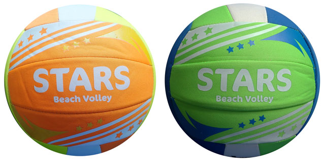 K6 Míč Beach volley NEOPRENE STARS