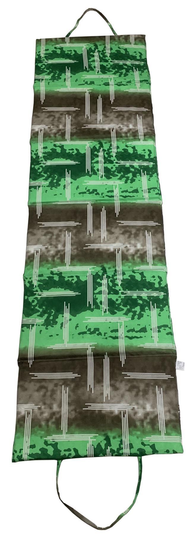L01-ZE Lehátko plážové skládací velké zelené