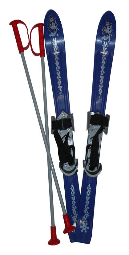 LSP90-MO Lyže dětské 90cm modré