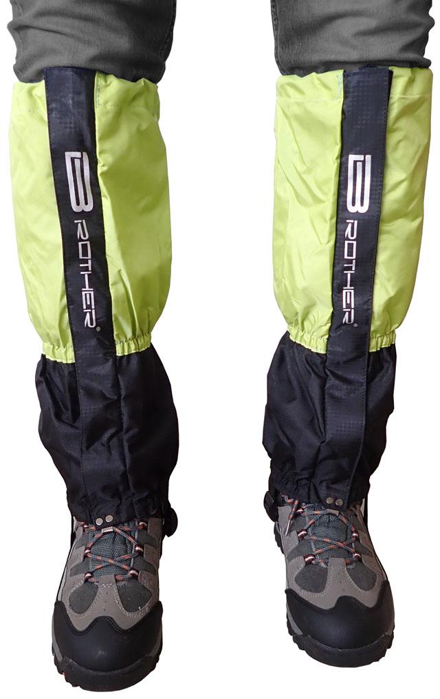 LTH2/1 Turistický návlek komfortní černo zelený - 1 pár