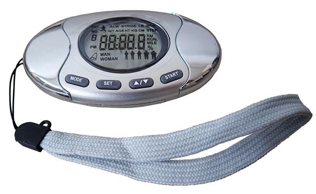 LTH7 Multifunčkní krokoměr - pedometer s měřením tělesného tuku