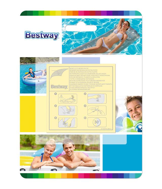 Bestway 62068 Záplaty samolepící speciál