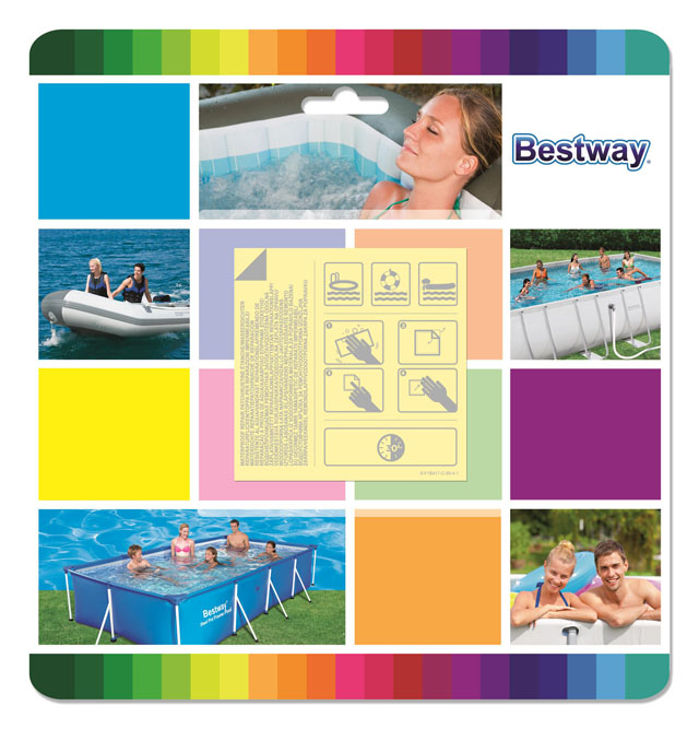 Bestway 62091 Záplaty samolepící PODVODNÍ