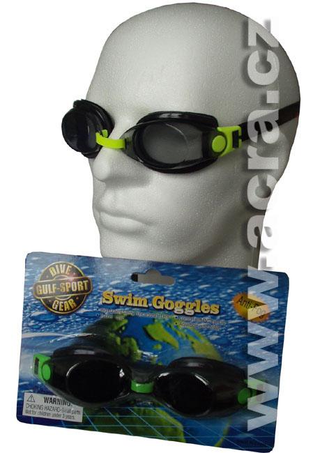 Plavecké brýle s Antifog úpravou