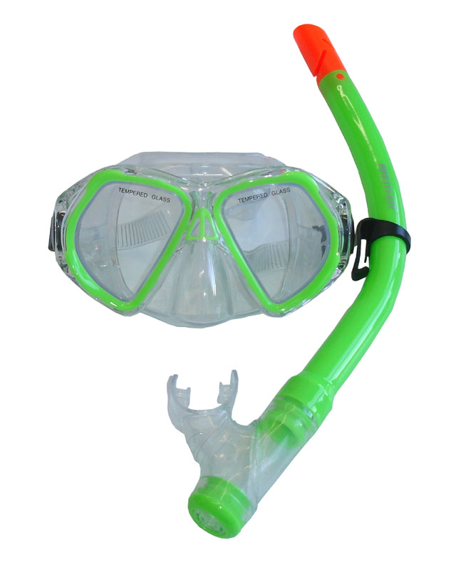 BROTHER P1569-98 Dětská potápěčská sada - zelená