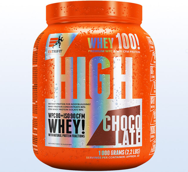 Extrifit High Whey 80 1000 g chocolate