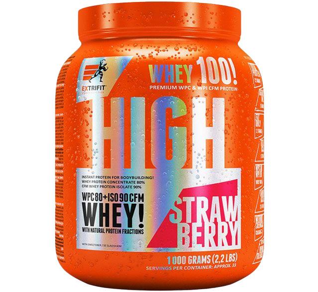 Extrifit High Whey 80 1000 g jahoda