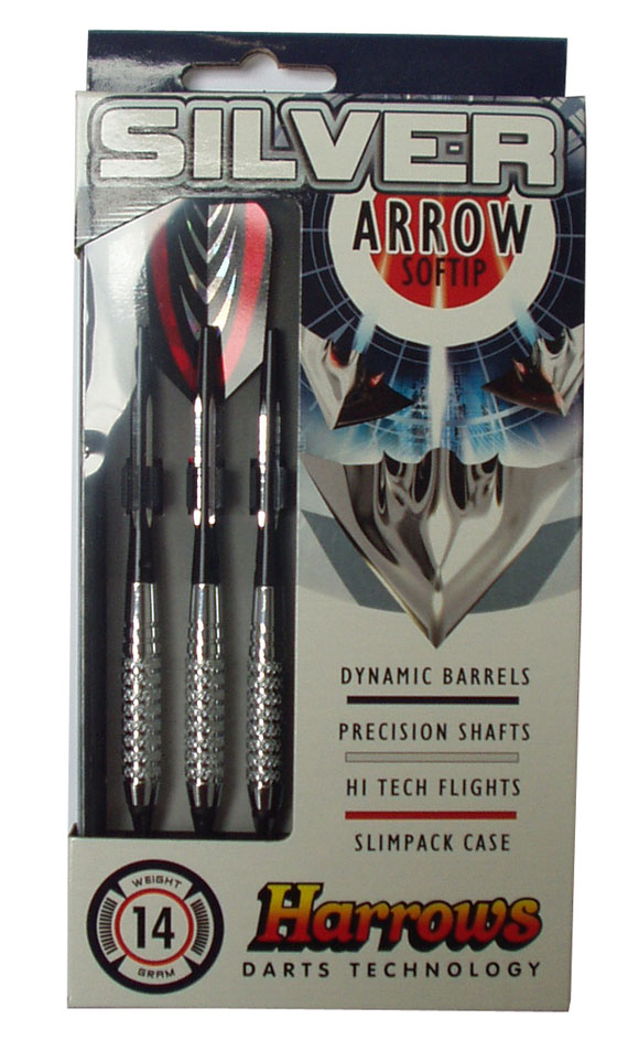 HARROWS SOFT SILVER ARROW 18g