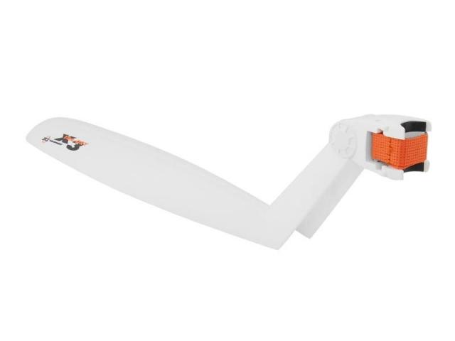 blatník na sedlovku SKS X-TRA-DRY bílý