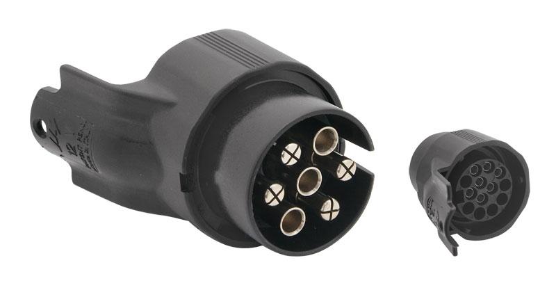 adaptér elektrické přípojky ze 13 na 7 pinů