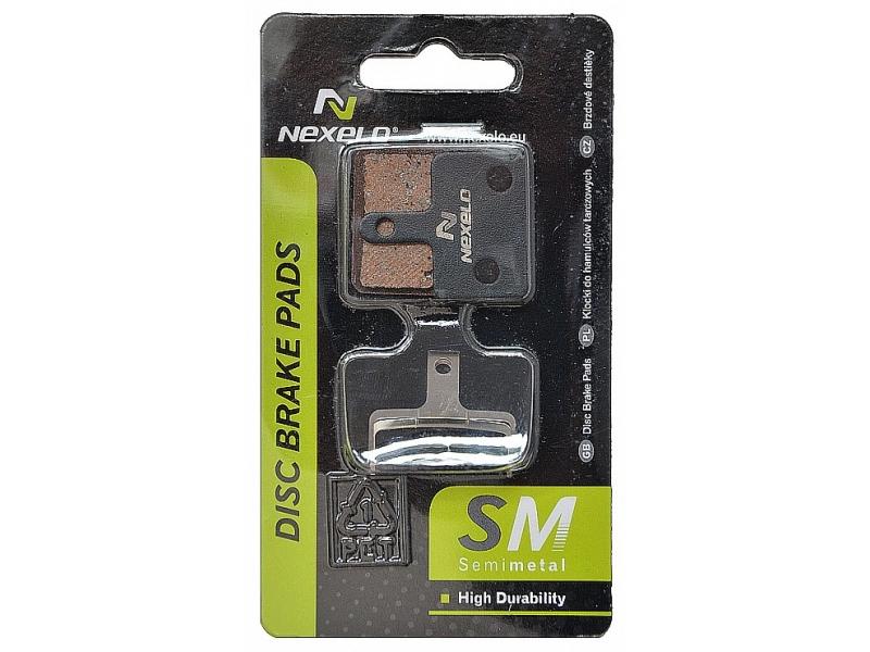 brzdové destičky NEXELO SH Deore semimetal