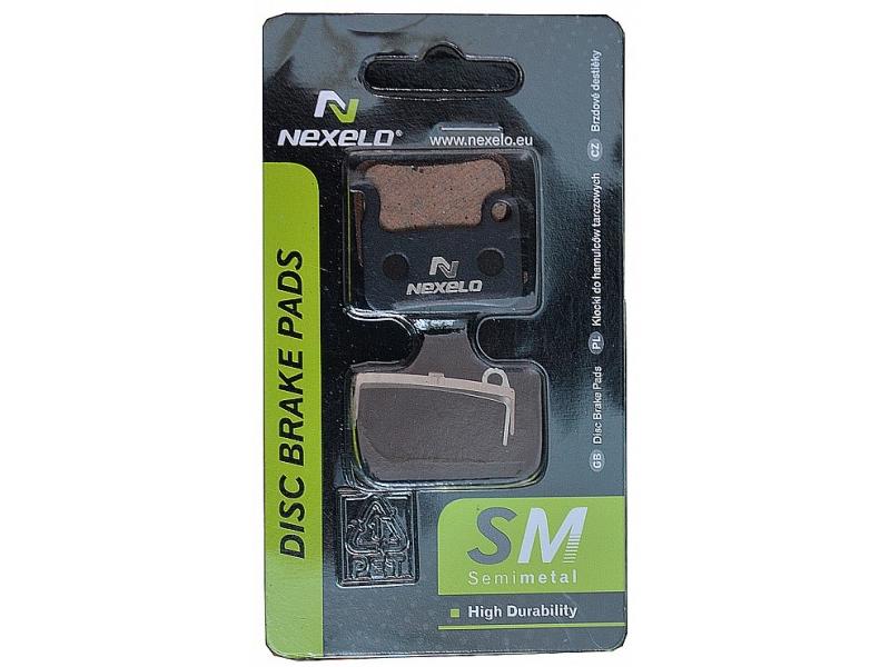 brzdové destičky NEXELO SH XTR/XT semimetal