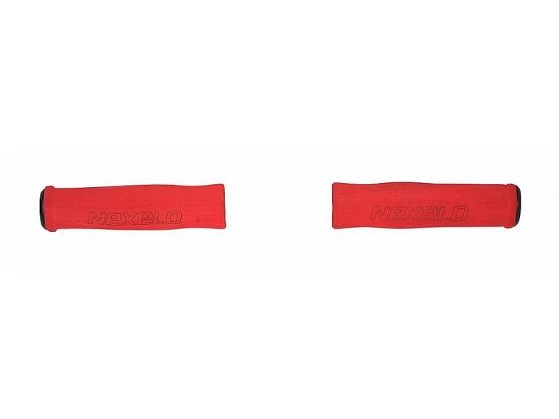 gripy NEXELO pěnové 125mm červené