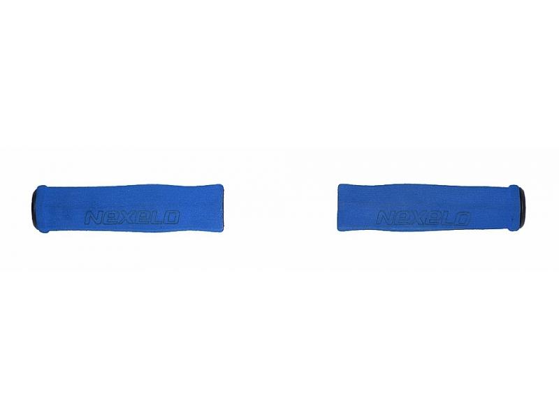 gripy NEXELO pěnové 125mm modré