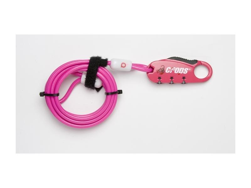 zámek CROPS Q4 4x1800 kód lanko růžový