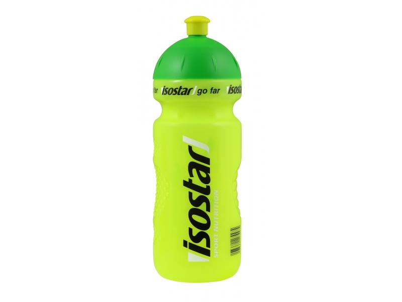 láhev 0.6l ISOSTAR žlutá průhledná cyklo