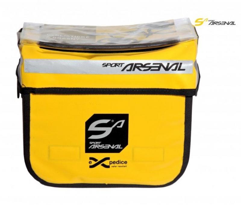 brašna Sport Arsenal 310 na řidítka EXP žlutá