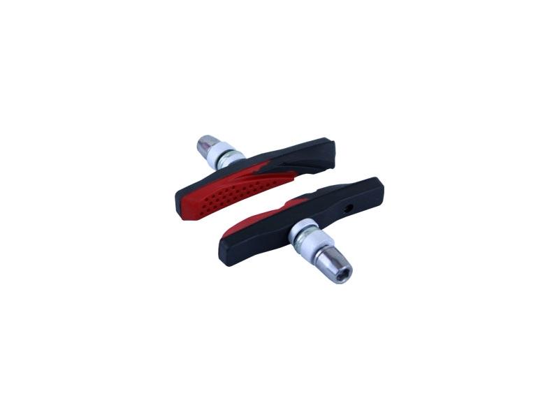 brzdové špalíky MRX-661 MTB 2-směsové červené