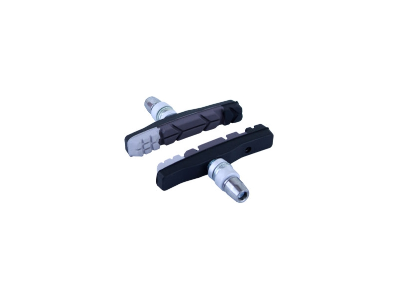 brzdové špalíky MRX-679 MTB 3-směsové, černo-šedo-bílé