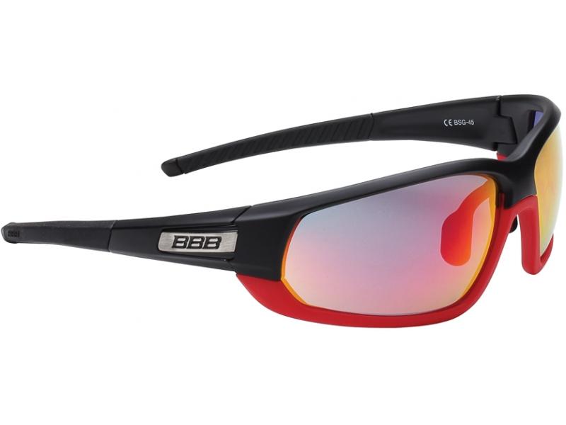 brýle BBB BSG-45 Adapt MLC černo-červené