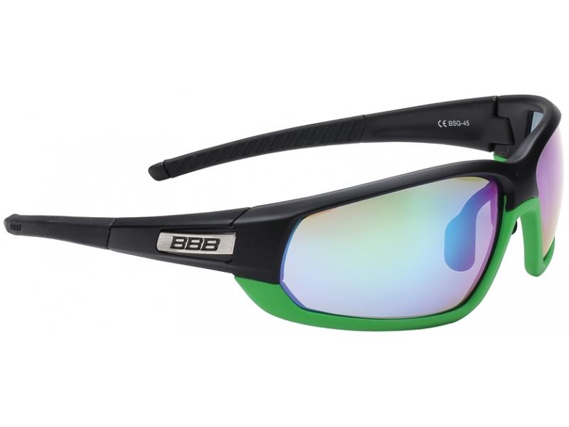 brýle BBB BSG-45 Adapt MLC černo-zelené