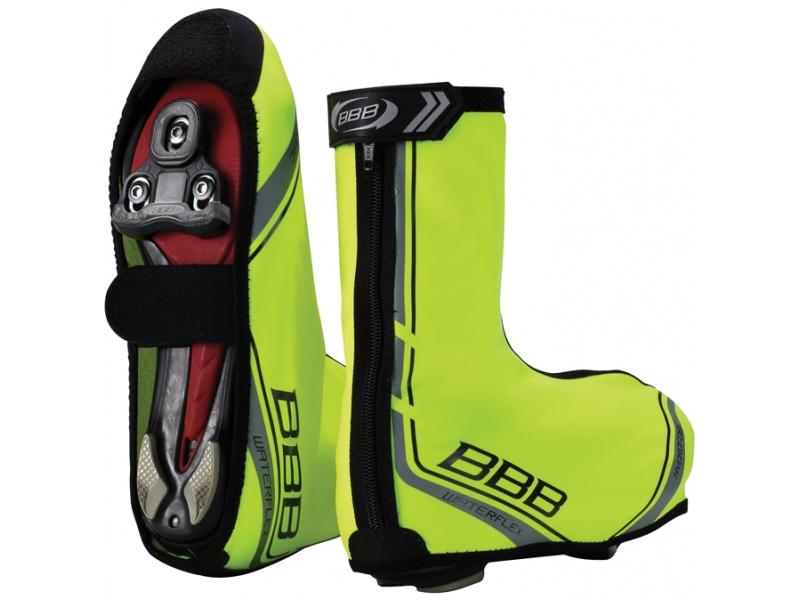 návleky na tretry BBB BWS-03 WaterFlex neon 37/38