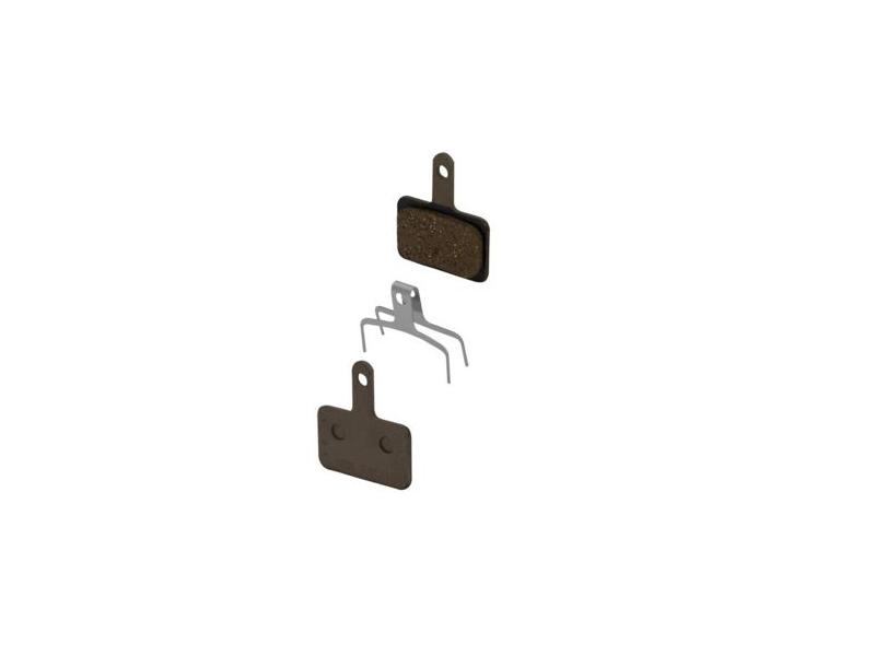 brzdové destičky SHIMANO SH BR-M515 polymer, s pružinou